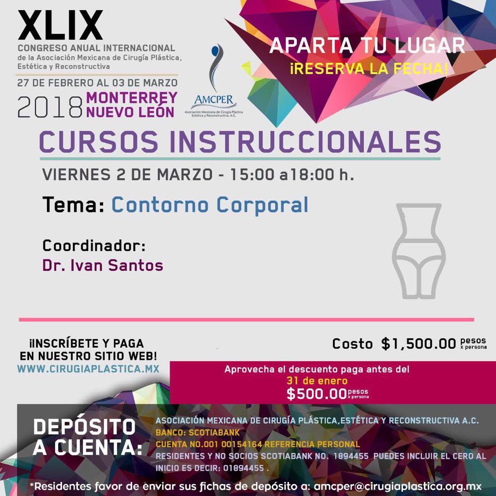 Curso Contorno Corporal – Congreso AMCPER – Sociedad Chilena de ...